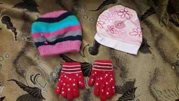Шапки перчатки комплект
