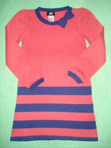 Платье H&M на девочку 2-4 года