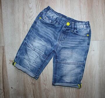 Стильные яркие бриджи шорты на мальчика шорты джинсовые Kiki&koko 7 лет, рост 122 см.