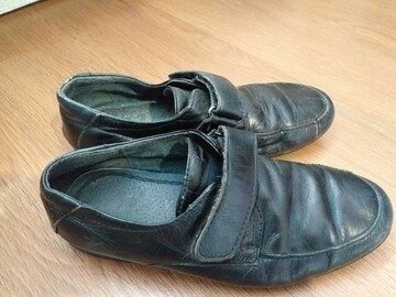 Кожаные туфли на мальчика 35 размера