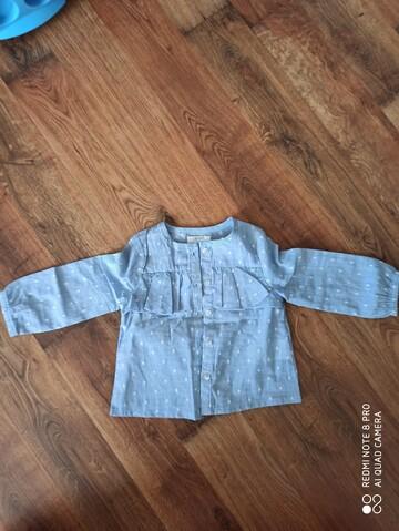 Блуза на дівчинку 74 см