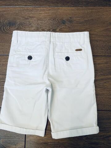 Белые шорты ( ткань брючная )