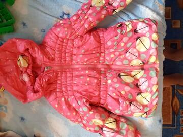 Куртка для девочки 3-4 лет
