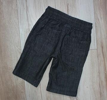 Next бриджи черные шорты хлопок шорти некст Next 6 лет, рост 116 см.
