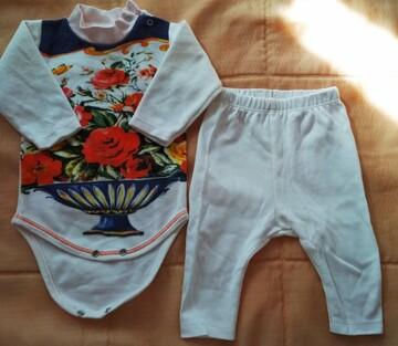 Комплект на дівчинку: бодік та штанці