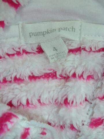 Флисовая кофта на молнии с капюшоном pumpkin patch на 4 года