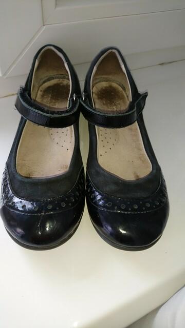 Туфли кожаные Little miss