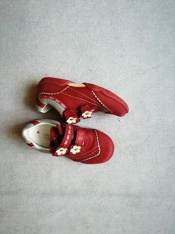 Красные туфли размер 25