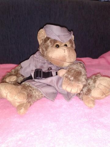 Рюкзачок-обезьянка