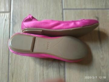 Фирменные балетки туфли ZARA р 37 22,5 см