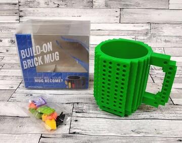 Кружка для фаната Лего Lego цвет зеленый