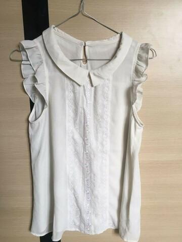 Белая блузка рубашка