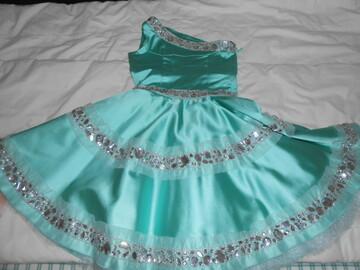 Платье мята розмер 134-140