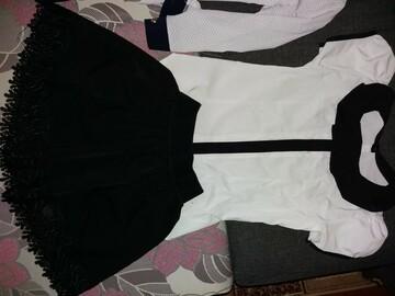 Школьная блуза и юбка