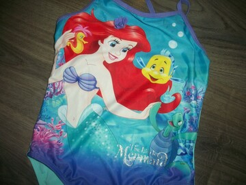 яркий купальник Русалочка на 7-8 лет Disney Дисней