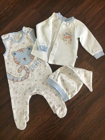 Комплект для новорождённого р.56-62