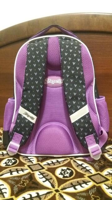 Рюкзак школьный для девочки 1-3 классов