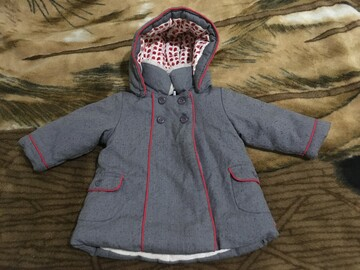 Детская тёплая куртка.