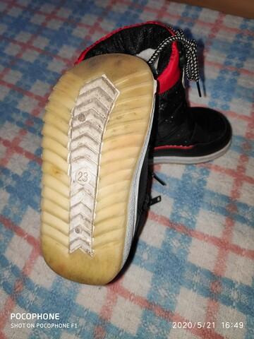 Дутые сапожки на девочку фирмы Libang.