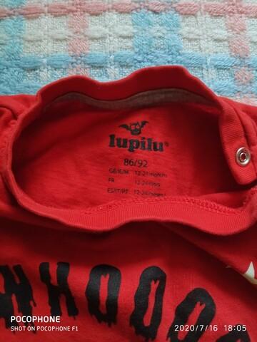Отличный реглан кофта лонгслив на мальчика фирмы Lupilu.