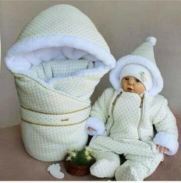 Чарівний комплект, який зігріє ваше немовля.