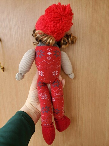 Мягкая кукла хенд-мейд