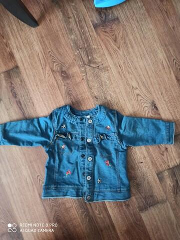 Легесенька джинсова курточка benetton