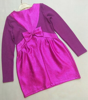 Малиново-сиреневое нарядное платье SuperTrash р.128
