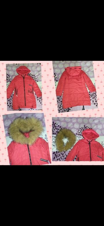 Зимняя куртка на девочку со съёмным мехом