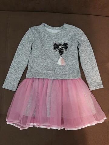 Нарядное платьице на маленькую принцессу