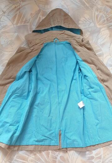 Демісезонне пальто Бембі для дівчинки на зріст 122 см.