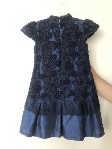 Витончена сукня темно-синього кольору