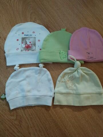 Шапочки для немовлят