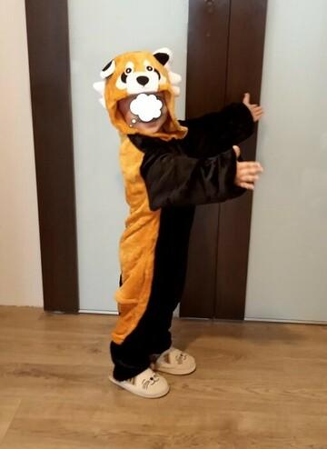 Пижама детская Кигуруми Красная Панда