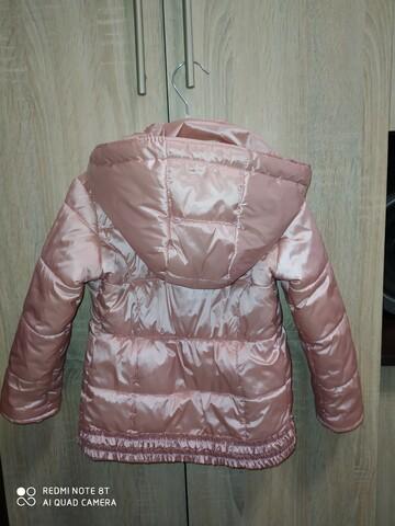 Пудровая курточка на холодную осень