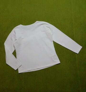 Фирменная белая трикотажная блузка свитшот кофточка на девочку 134-140 см MANGO