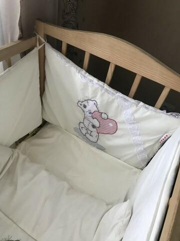 Кроватка с защитой