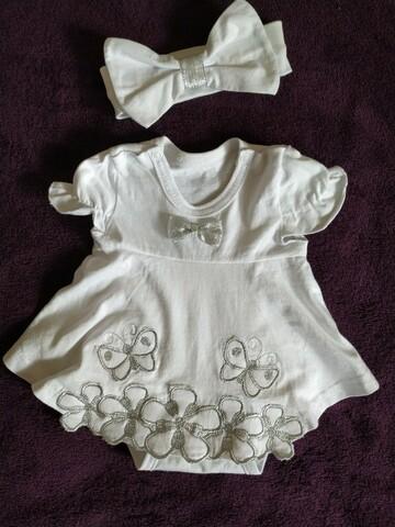 Детское красивое боди платье