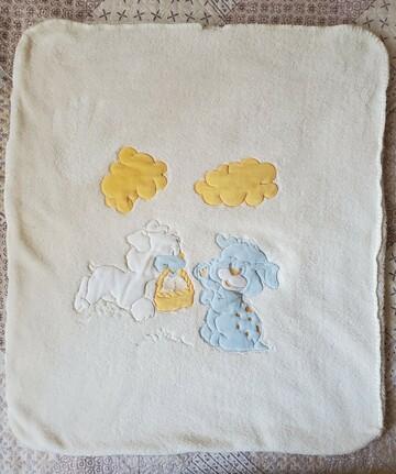Детское лисовое одеяло