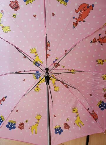 Зонт-трость для малышки