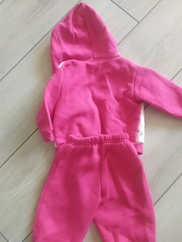 Костюм для дівчинки, рожевий