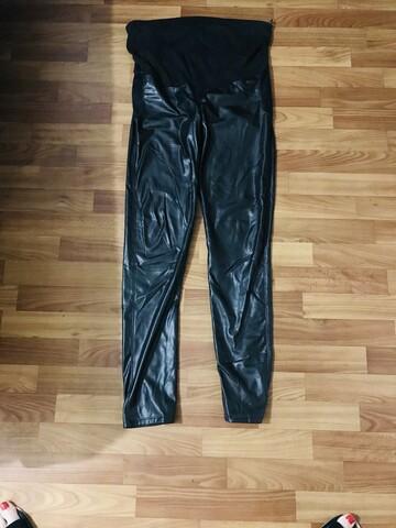 Кожаные штаны для беременных