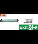 Lampa antiex 2x18W cu kit emergenta 1 ora