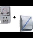 Pachet termostat Schrack + ventilator tablou