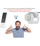 Solutie control o priza existenta din telecomanda, on/off sau programat