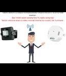 Solutie de control iluminat exterior din senzor  de miscare wireless