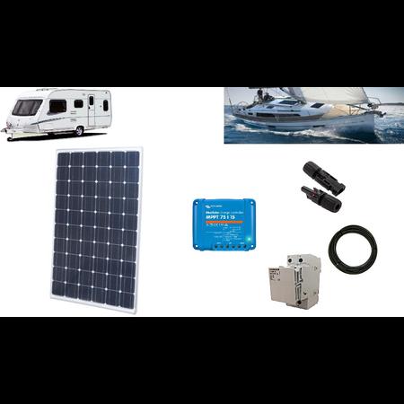 Camper kit fotovoltaic 255W - ideal pentru rulote, barci etc - fara acumulator