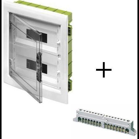 Pachet tablou gips carton 12 Module Gewiss + bara nul