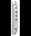 Lampa modulara simpla cu LED pentru semnalizare prezenta tensiune pe cele trei faze