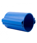 Tub rigid format din doua parti  pentru protectie cabluri subterane D 110mm Albastru